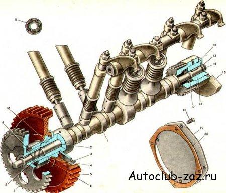 для двигателя ЗАЗ-968М
