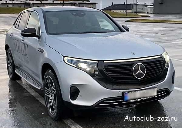 Mercedes-Benz EQC 2019 фото